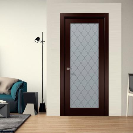 Купить межкомнатные двери COSMOPOLITAN CP-509 стекло оксфорд Папа Карло