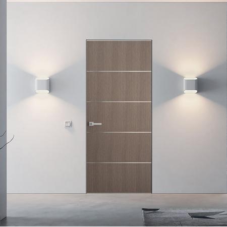 Купить межкомнатные двери скрытого монтажа Plato-2 Папа Карло
