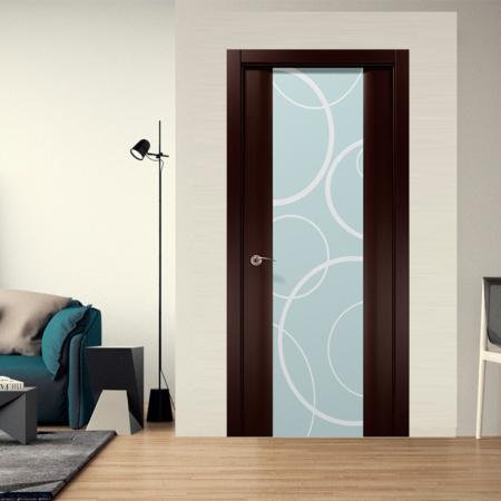 Купить межкомнатные двери COSMOPOLITAN CP-22 арт (рис. пескоструй) Папа Карло