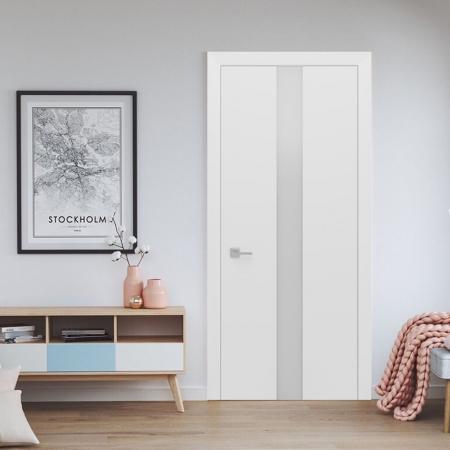 Купить межкомнатные двери Ultra Glass 3 White Status doors