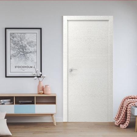 Купить межкомнатные двери VE-07 дуб белый  Дверной Бум