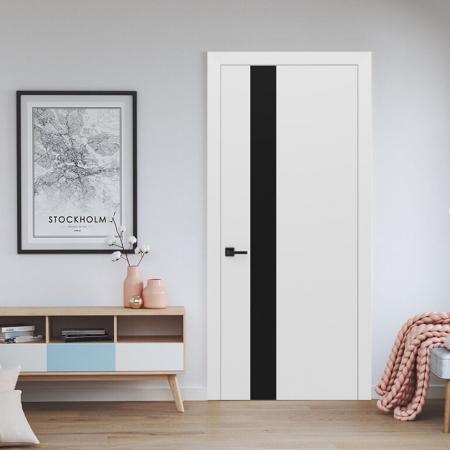 Купить межкомнатные двери Ultra-Glass Black Status doors
