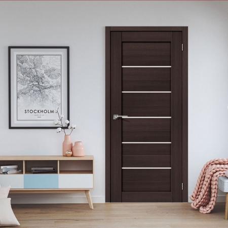 Купить межкомнатные двери VT-22 шоколад  Дверной Бум