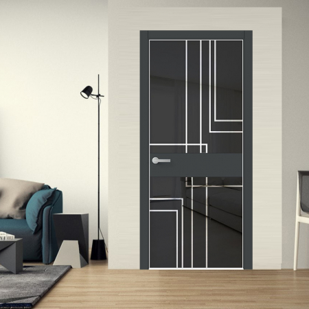 Купить межкомнатные двери Luxury VIP 73 F Wake Wood