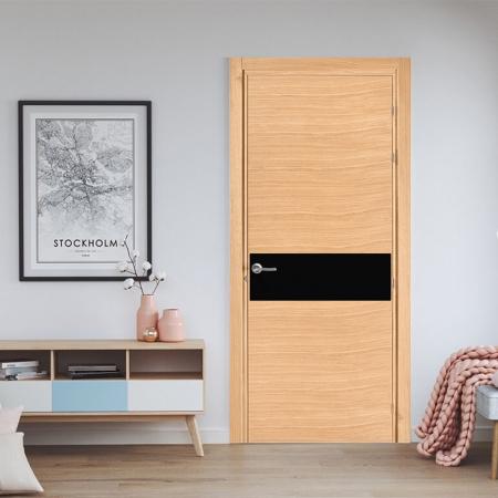 Купить межкомнатные двери PLATO 1310 RAL 9005 Fado
