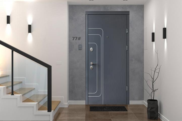входные двери Straj Lux Престиж Трэк - 1