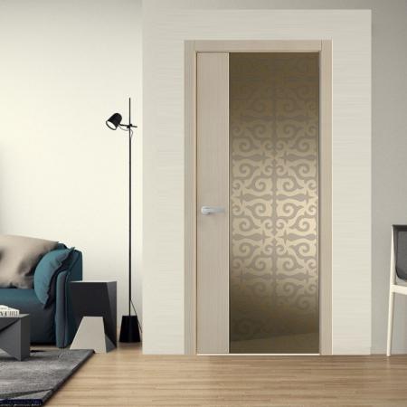 Купить межкомнатные двери Unica Flare 25 Wake Wood