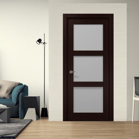 Купить межкомнатные двери COSMOPOLITAN CP-507 стекло сатин  Папа Карло