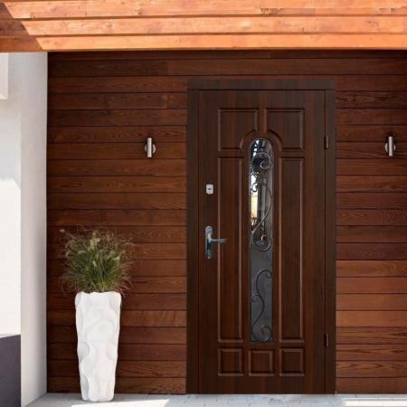 Купить входные двери Трио-Классик со стеклом Термопласт