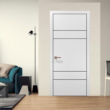 Купить межкомнатные двери PLATO PL-09 AL Папа Карло
