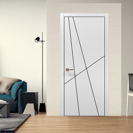 Купить межкомнатные двери PLATO PL-17 AL Папа Карло