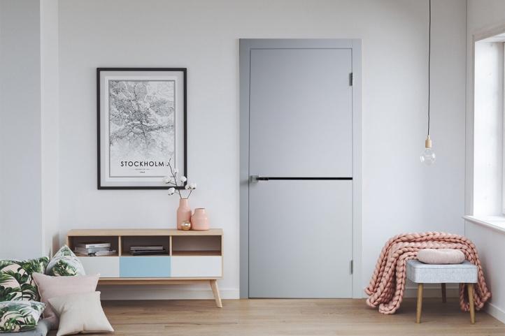 межкомнатные двери loft s03 Дверной Бум - 1