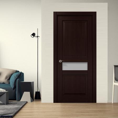 Купить межкомнатные двери COSMOPOLITAN CP-513 стекло сатин Папа Карло