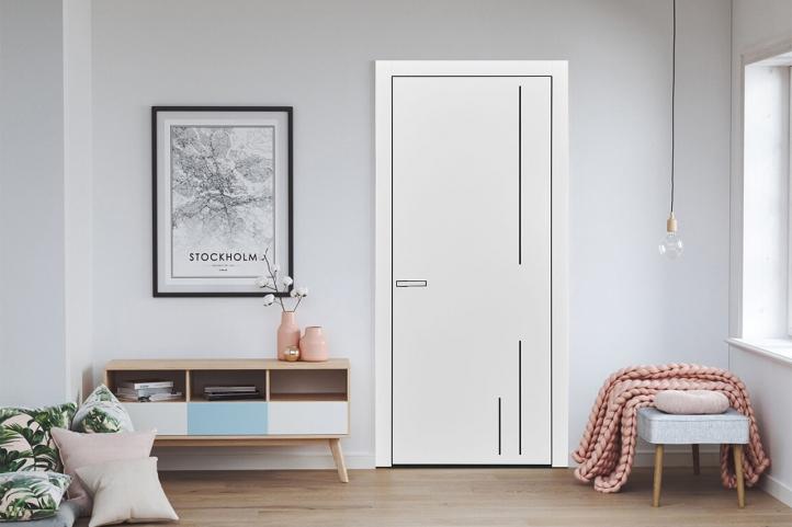 межкомнатные двери loft m12 Дверной Бум - 1