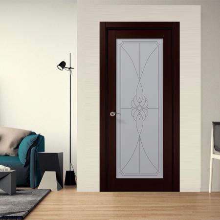 Купить межкомнатные двери COSMOPOLITAN CP-509 стекло бевелз Папа Карло