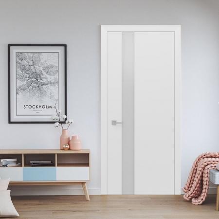 Купить межкомнатные двери Ultra-Glass White Status doors
