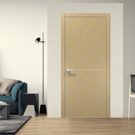 Купить межкомнатные двери ELEGANCE Unica-AL Папа карло