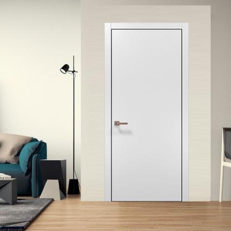 Купить межкомнатные двери PLATO PL-01 AL Папа Карло